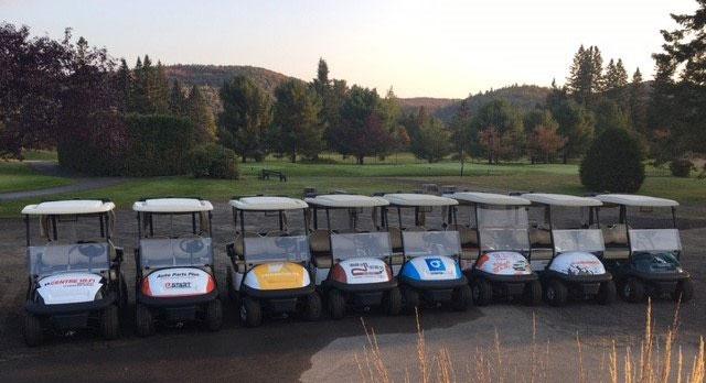 voiturette golf commandite